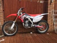 2015 HONDA CRF 250R twin pipe (not Ktm, yzf, rmz, kxf)