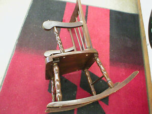 ANTIQUE CHILD'S WOODEN ROCKER London Ontario image 2