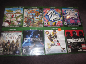 XBox One - AAA Selection of NEW Games - $7 & up - see Price List