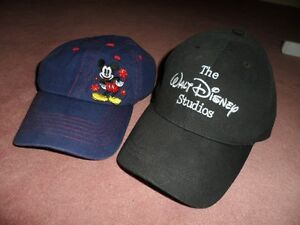 Two (2) Disney Mickey Mouse Caps Edmonton Edmonton Area image 1