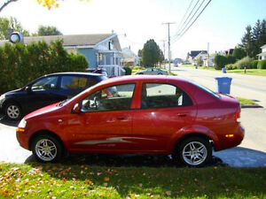 2005 Chevrolet Aveo Lt Berline