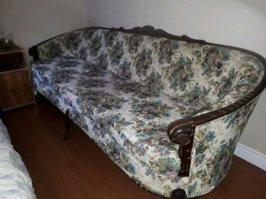 French provincial couch and chair.
