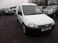 Vauxhall Combo 1700 Cdti SWB H/C (white) 2010