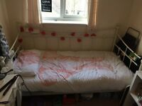 Day Single Bed and Mattress Shabby Chic