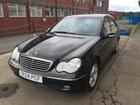 Bargain beautiful Mercedes c200 top of the range full years MOT service history