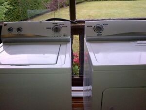 KENMORE WASHER DRYER SET FOR SALE