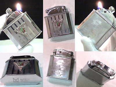 French Vintage Myon L Gion Para Indochine War Fuel Lighter Feuerzeug No Thorens