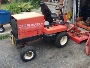 Gravely promaster 72 inch diesel mower