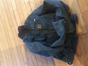 Youth carhartt  jacket size large ( 10-12)