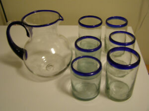 Hand-Blown Glasses