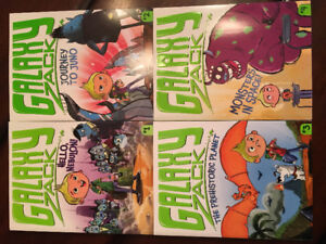 'Galaxy Zack' book series