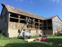 STEEL ROOFING BARN REPAIRS AND PAINTING