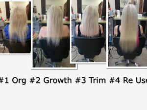 HAIR EXTENSIONS*SAVE $400-$600 COMPAIRED TO OTHER SALONS Peterborough Peterborough Area image 4