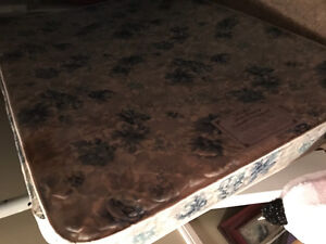 Used double bed for sale mattress and box spring $100.00!!!!