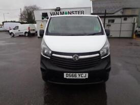 Vauxhall Vivaro 2900 1.6Cdti 115Ps H1 Van DIESEL MANUAL WHITE (2016)