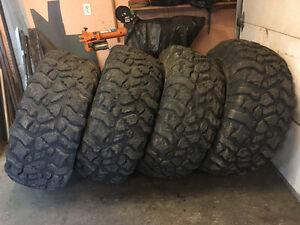 """44"""" x 19.50"""" - 16.5"""" Pit Bull Rocker offroad tires"""