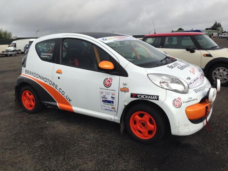 2007 Citroen C1 MSA Log Booked Junior 1000 Rally Car with large ...