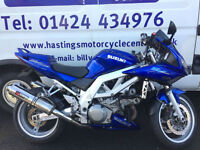 Suzuki SV1000S / SV1000 Sporty V Twin / Nationwide Delivery / Finance