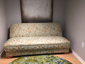 Reupholstered Vintage Couch