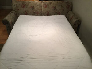 Sofa bed, double size including the mattress protector