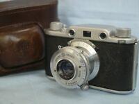 Vintage Ferrania Condor 1 Camera and Case