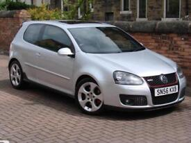 FINANCE AVAILABLE!! 56 REG VOLKSWAGEN GOLF 2.0 TFSI GTI 3dr 1 YEAR MOT FSH,