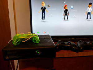 Massive xbox 360 console and game package