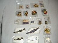 LIONS CLUB COLLECTION OF VINTAGE PINS, BADGES & PIN VEST