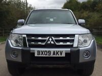 Mitsubishi shougun LWB diesel auto leather satnav Rev camera