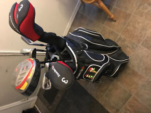 Men's right handed gold clubs whole set make an offer$