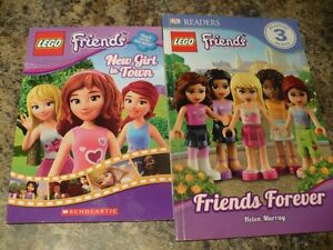 Lot of 2 Lego City Friends Books