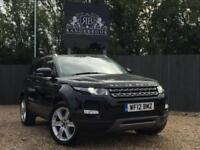 2012 12 LAND ROVER RANGE ROVER EVOQUE 2.2 SD4 PURE TECH 5DR AWD DIESEL