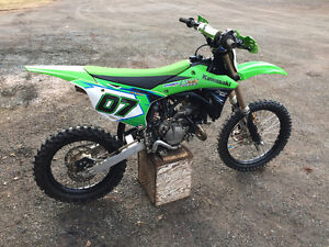 2014 kawasaki kx 100 excellent condition