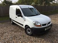 2005 RENAULT KANGOO 1.5 DCI 70 BHP (75,000 FSH) MOT APRIL 2017! AIR CON - PRIVATE PLATE! TOW PACK!