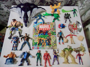 MARVEL LOT OF ACTION FIGURES LOOK & FIND