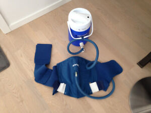 AIRCAST CRYOCUFF IC COOLER WITH SHOULDER PAD