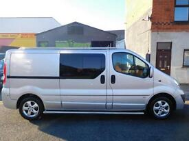 Vauxhall Vivaro 2.0CDTi 115 sportive LWB 6 seat factory fitted crew cab (9)