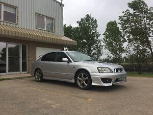 *SOLD* 2002 Subaru Legacy RSK B4 Rev'D, RHD