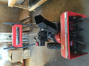 5HP self driver snow thrower