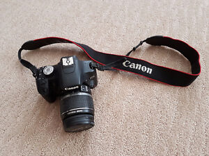 Canon t1i w/ 18-55mm and 55-250mm lens extra batt and golla case