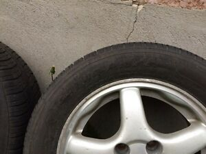 Selling rims and tires 195/60R14 Kitchener / Waterloo Kitchener Area image 3