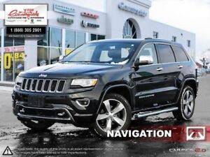 2015 Jeep Grand Cherokee OVERLAND  - Navigation