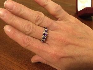 Amethyst ring Windsor Region Ontario image 1