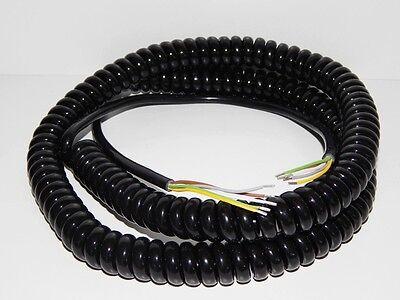 Cable Espiral 5-adrig 5x0, 25 Seguridad Puerta Accionamiento Seccional Rodante