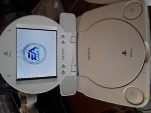 Attention Vintage Video Game Collectors!!! PSOne LCD VERY RARE