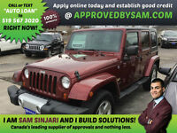 Jeep Wrangler Sahara Unlimited - MORE JEEPS @ APPROVEDBYSAM.COM