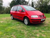 ONE PREVIOUS KEEPER Volkswagen Sharan 1.9TDI 7 SEATER