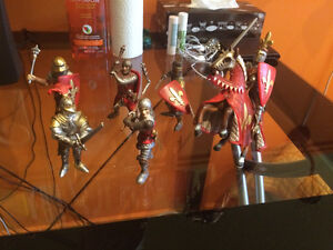 Schleich soldiers and knights