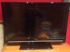 Sharp LCD colour tv