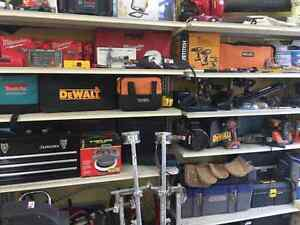 Need Tools!!! Big selection off tools @ Rex & Co. Pawnshop